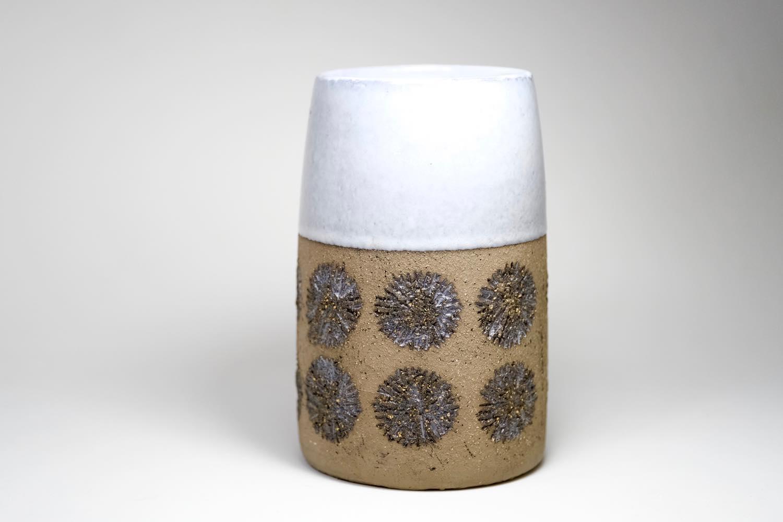 画像1: Upsala Ekeby/ウプサラエクビィ/Göran Andersson/Star/花瓶/Mサイズ  (1)